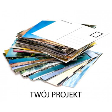 Pocztówki - Twój projekt