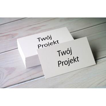 Wizytówki standard - Twój projekt