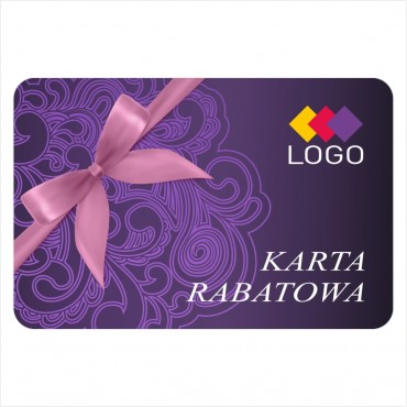 Karta rabatowa - Projekt K13