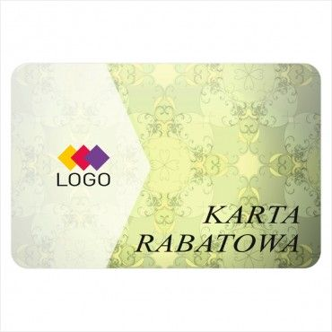 Karta rabatowa - Projekt K29