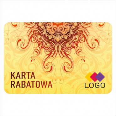 Karta rabatowa - Projekt K30