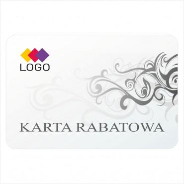 Karta rabatowa - Projekt K33