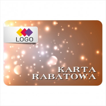 Karta rabatowa - Projekt K37