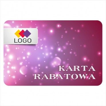 Karta rabatowa - Projekt K38