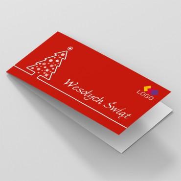 Kartki świąteczne dla firm DL okładka