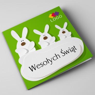 Kartki świąteczne biznesowe na Wielkanoc - okładka