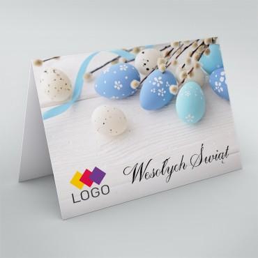 Kartki świąteczne dla firm na Wielkanoc - okładka.