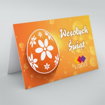 Kartki świąteczne dla firm na Wielkanoc - okładka