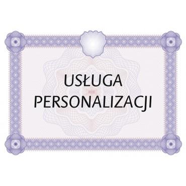 Usługa personalizacji certyfikatów