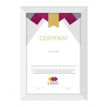 Certyfikat - projekt 03
