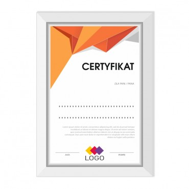 Certyfikat - projekt 04