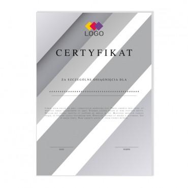 Certyfikat - projekt 05