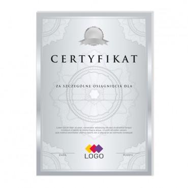Certyfikat - projekt 06