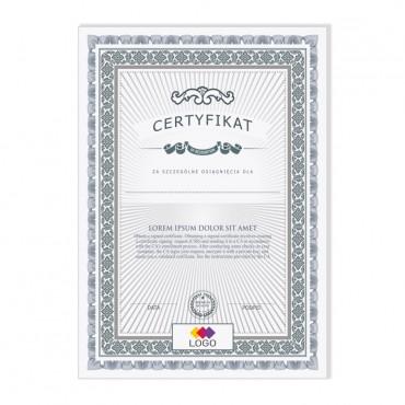 Certyfikat - projekt 07