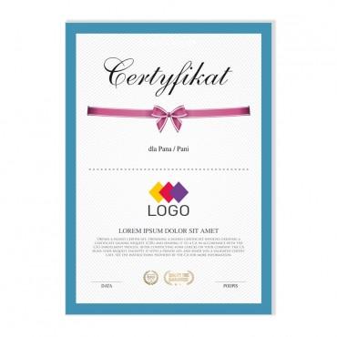 Certyfikat - projekt 16
