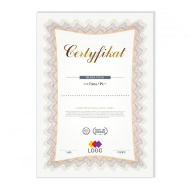 Certyfikat - projekt 17