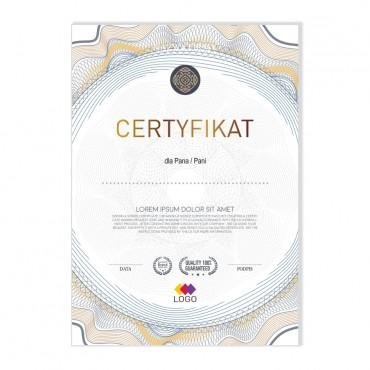 Certyfikat - projekt 18
