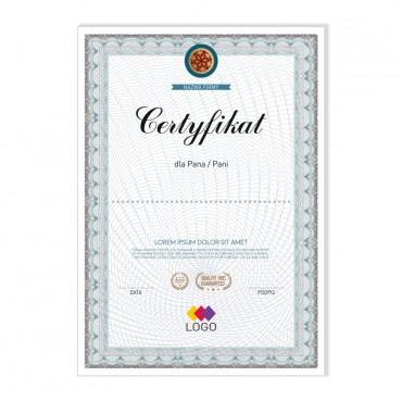 Certyfikat - projekt 20