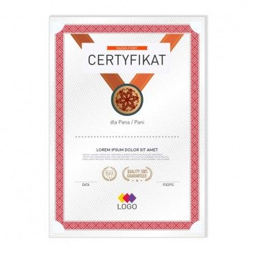 Certyfikat - projekt 21