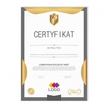 Certyfikat - projekt 25