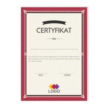 Certyfikat - projekt 27