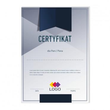 Certyfikat - projekt 30