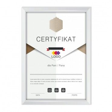 Certyfikat - projekt 32