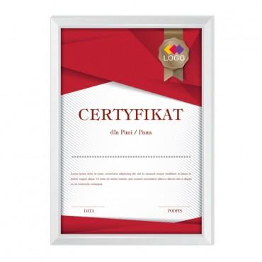 Certyfikat - projekt 34