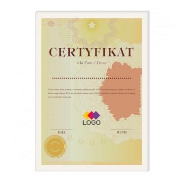 Certyfikat - projekt 36