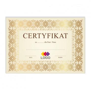 Certyfikat - projekt 44