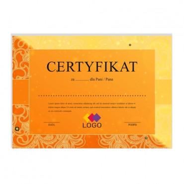 Certyfikat - projekt 48