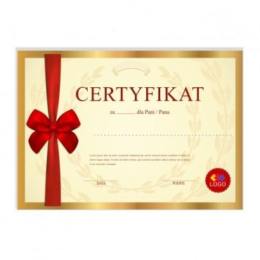 Certyfikat - projekt 50