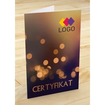Certyfikat jubilerski - projekt 12