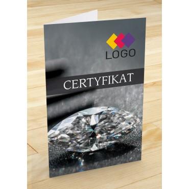 Certyfikat jubilerski - projekt 14