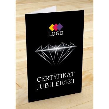 Certyfikat jubilerski - projekt 17