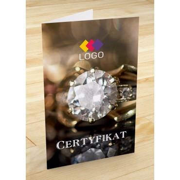 Certyfikat jubilerski - projekt 19