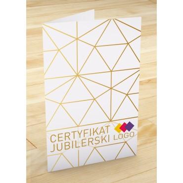 Certyfikat jubilerski - projekt 22