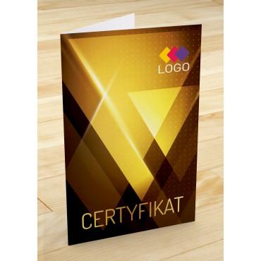 Certyfikat jubilerski - projekt 25